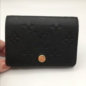 Authentic Louis Vuitton Empreinte Card Holder